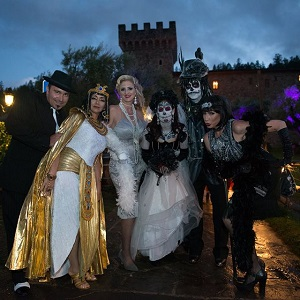 Castello Halloween.The Pagan Ball At Castello Di Amorosa 10 25 2019 Napavalley Com