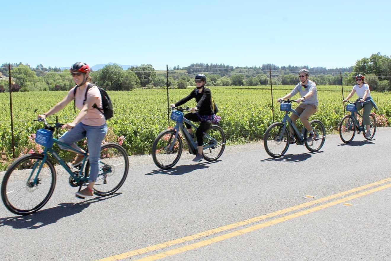 Bike, Kayak, or Paddle Through Wine Country