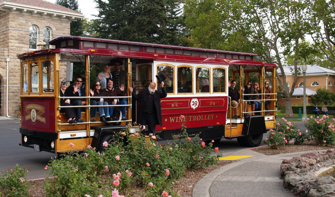 Sonoma Valley Trolley