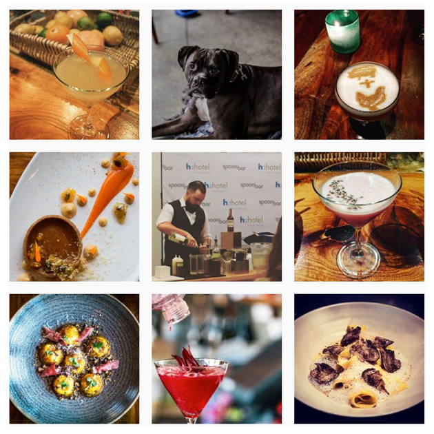 Spoonbar instagram feed