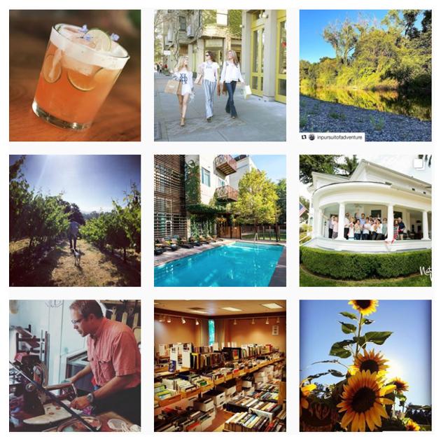 healdsburg chamber instagram feed
