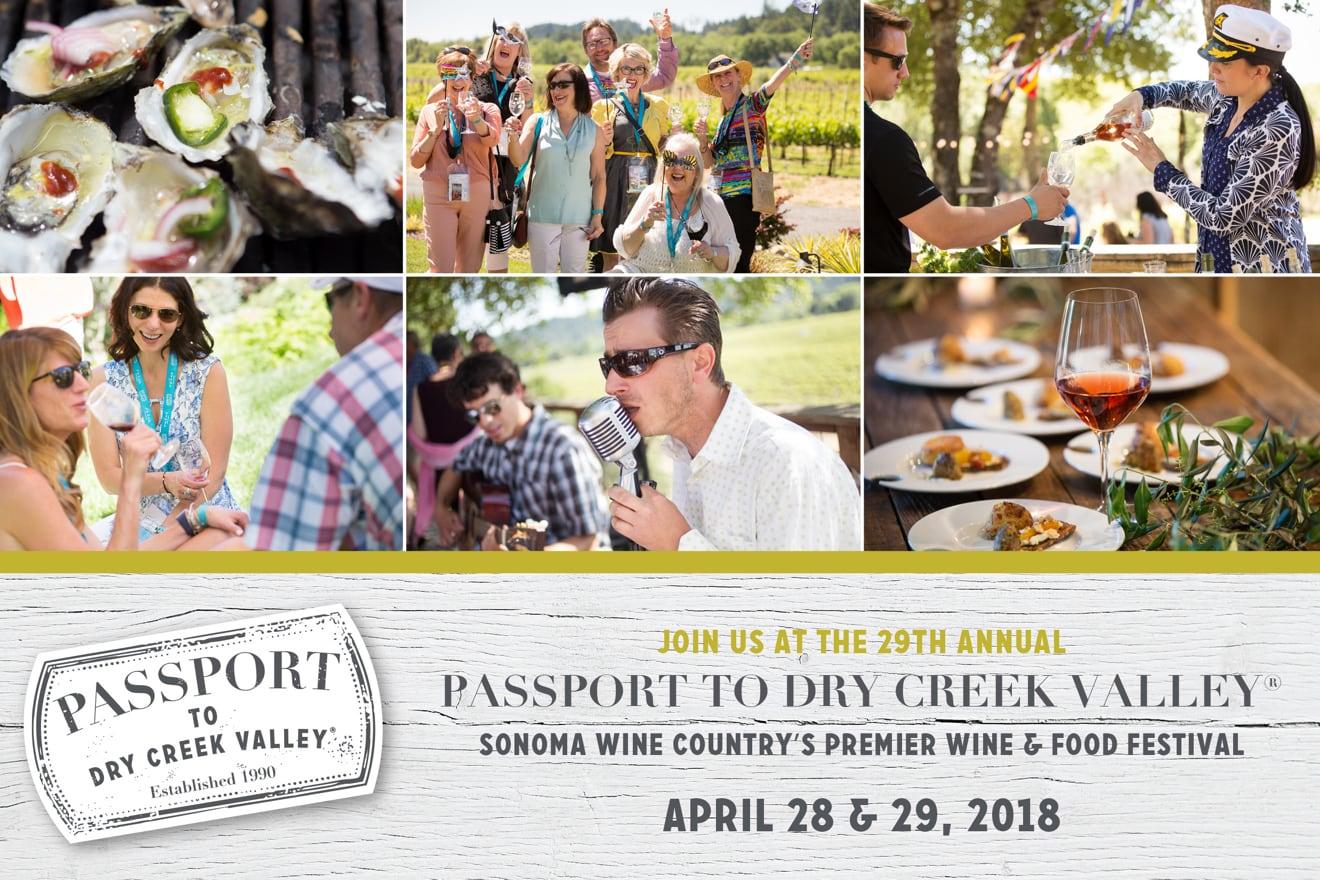 2018 Passport To Dry Creek Valley Sonoma Com