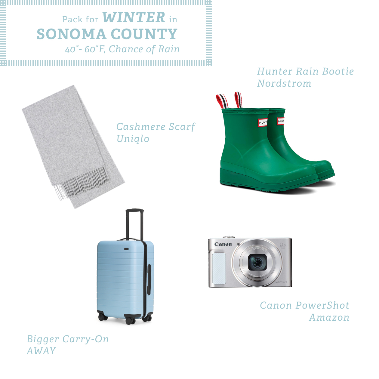 What to Pack for a Trip to Sonoma County - Sonoma com