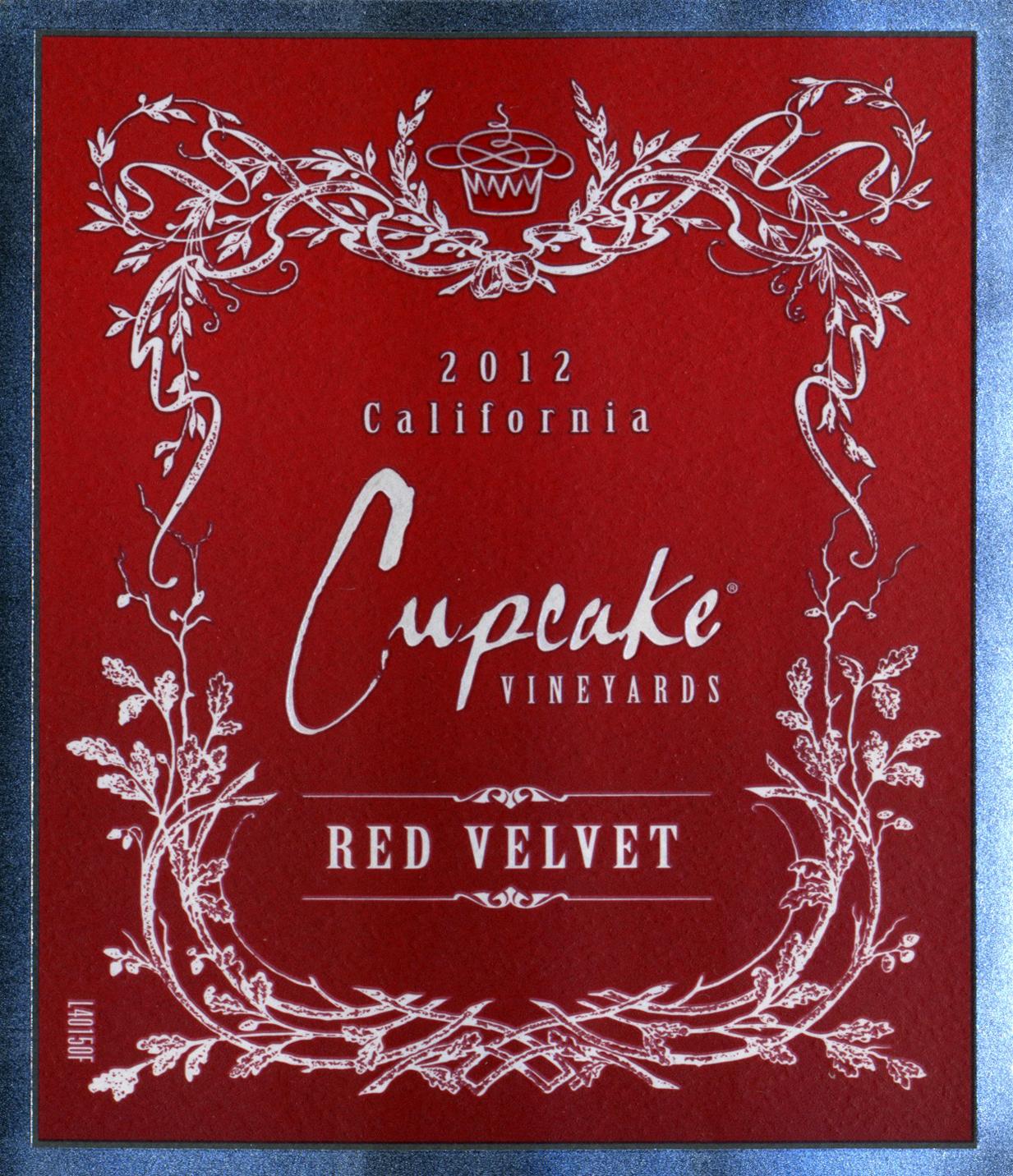 2012 Cupcake Red Velvet - Wine Library