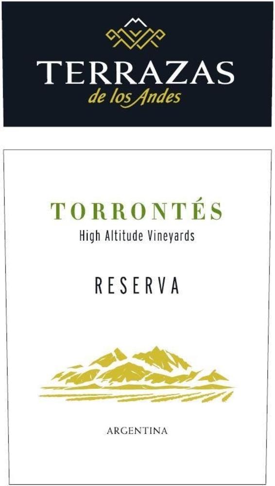 2017 Terrazas De Los Andes Reserva Torrontes Mendoza 750ml
