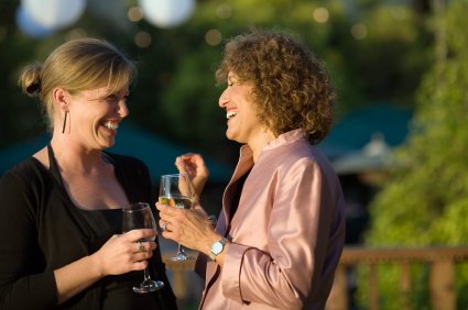 Catch up with old friends at a reunion on a wine tour