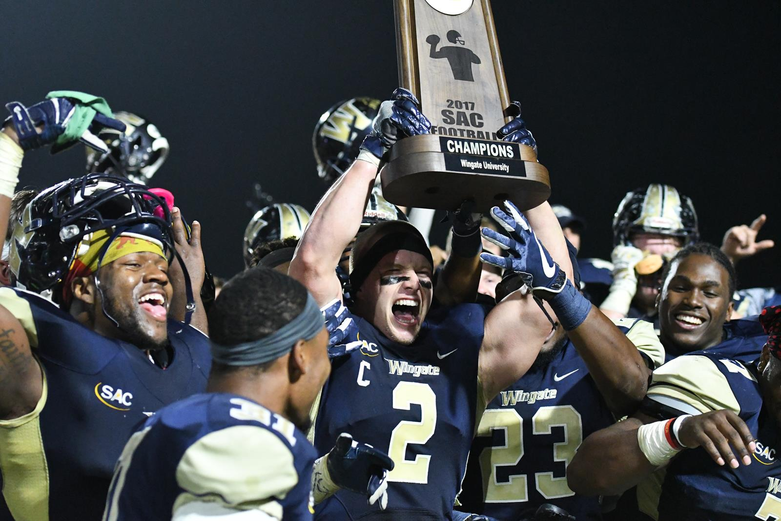 Champs Wingate Claims Outright Sac Title With 44 20 Victory Over