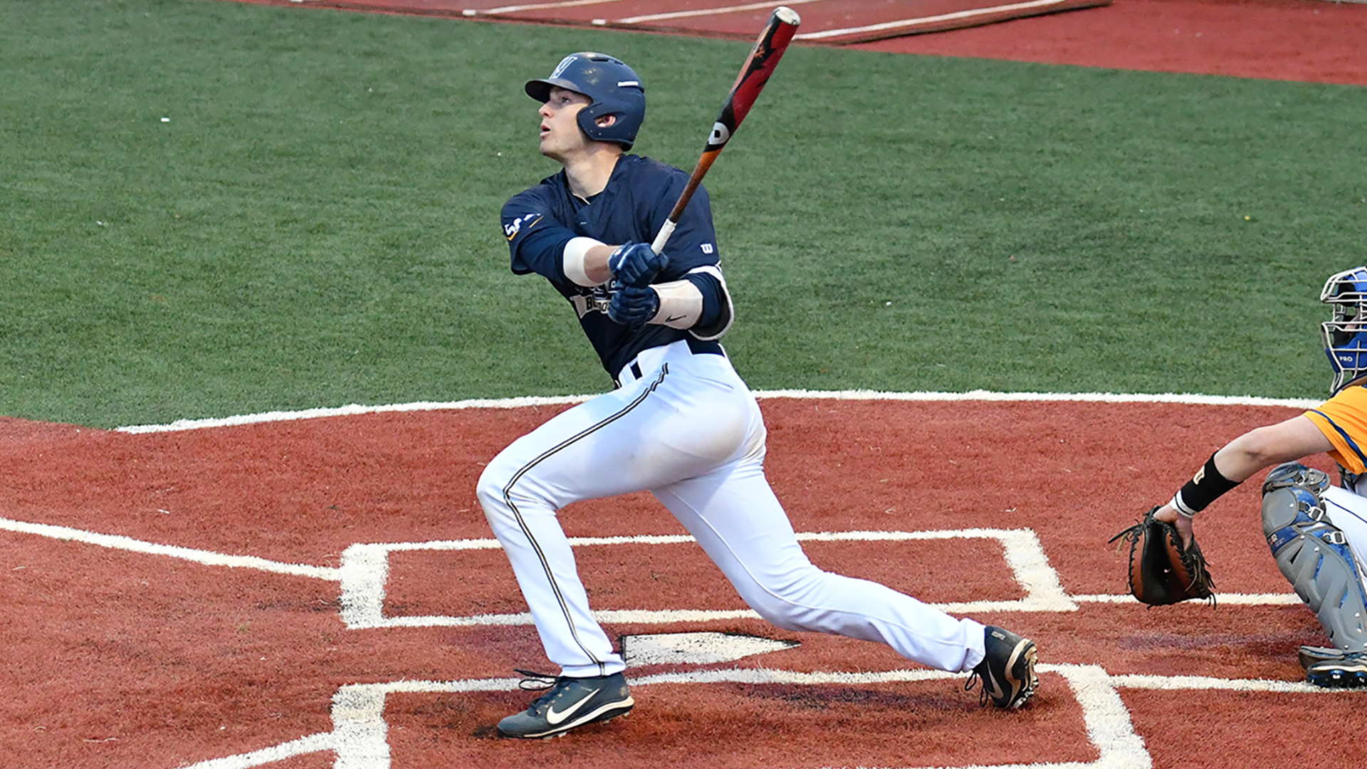 22 wingate uses long ball in 7 3 series opening victory over mars