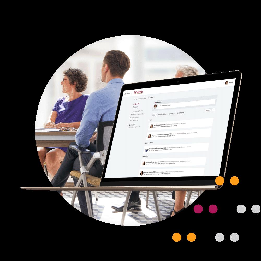 App para facilitar a gestão das assembléias