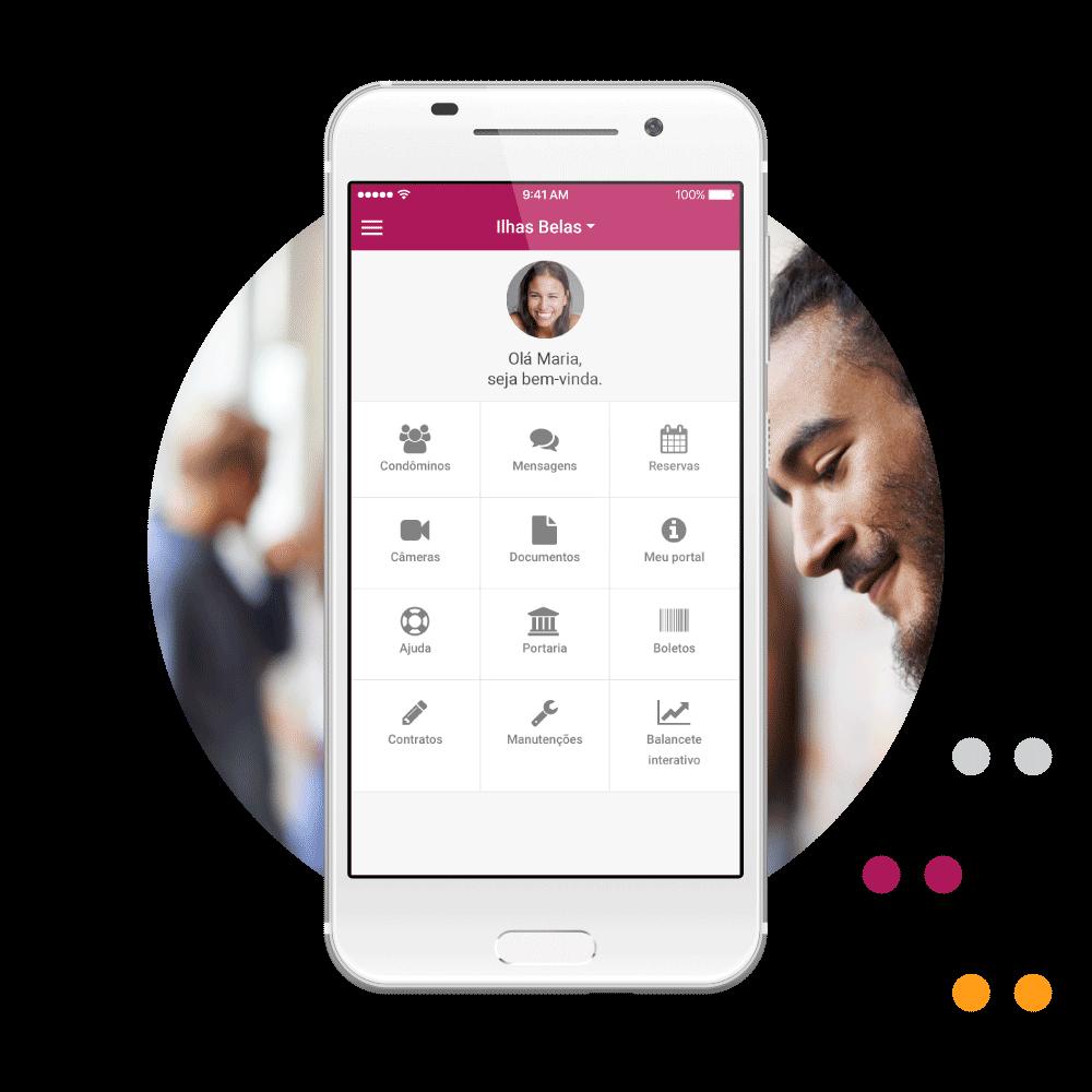 O aplicativo mais completo e integrado para condomínios