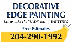 Decorative Edge Painting