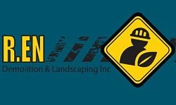 Website for R. EN Demolition & Landscaping Inc.