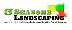Website for 3 Seasons Landscaping Inc.