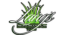 Website for Lang's Landscaping & Lawn Care