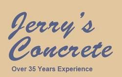 Website for Jerry's Concrete Works Ltd.