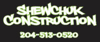 Website for Shewchuk Construction