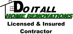 Website for Do It All Home Renovations
