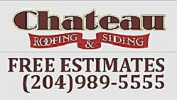 Website for Chateau Roofing & Siding Ltd.