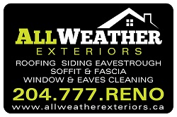 Website for All Weather Exteriors Ltd.