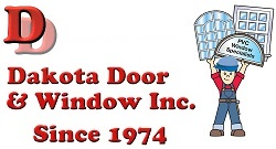 Website for Dakota Door & Window Inc.