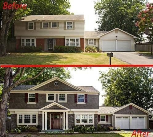Best 25+ Exterior Home Renovations Ideas On Pinterest | House Makeovers, Exterior  Home Painting And Porch Appeal Part 5