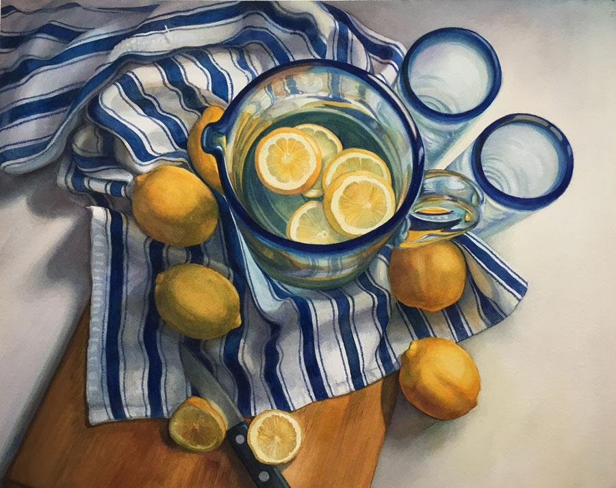 Lemon Made by Rosanne Wolfe