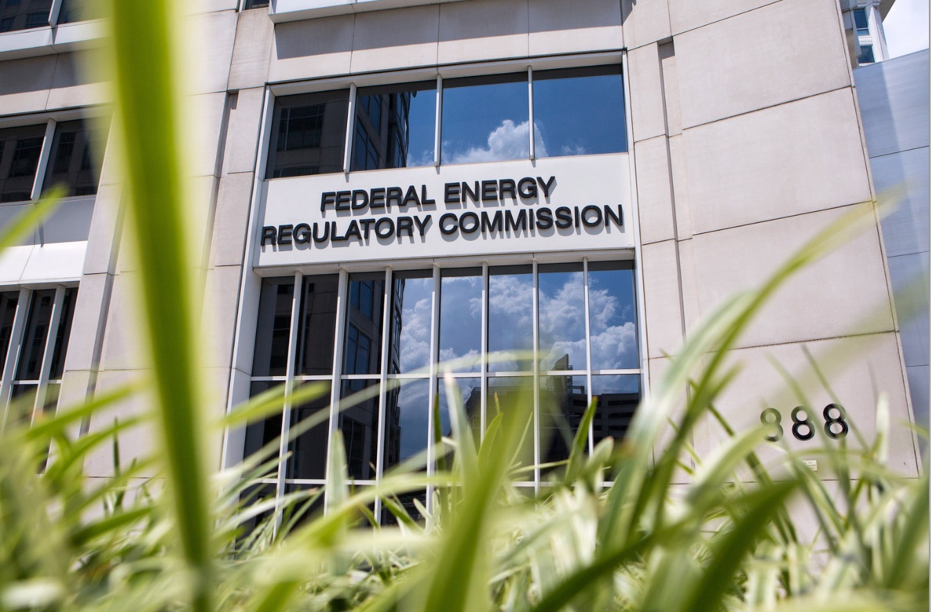 The Federal Energy Regulatory Commission (Liam James Doyle/NPR)