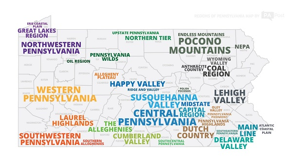 The regions of Pennsylvania, defined by Pennsylvanians | WITF on map of midwest lakes, map of new york lakes, map of canonsburg lake pa, map of florida lakes, map of wi lakes, map of central pa, us map with rivers and lakes, map of poconos pa, map of minnesota lakes, map of eastern pa, map of route 209 pa, map of puerto rico lakes, pennsylvania lakes, map of campgrounds in pa, map of western washington, map of north dakota lakes, map of west view pa, map of washington lakes, map of southern california lakes, map of western pennsylvania,