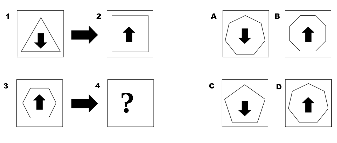 abstract reasoning  4 free practice tests with diagrams