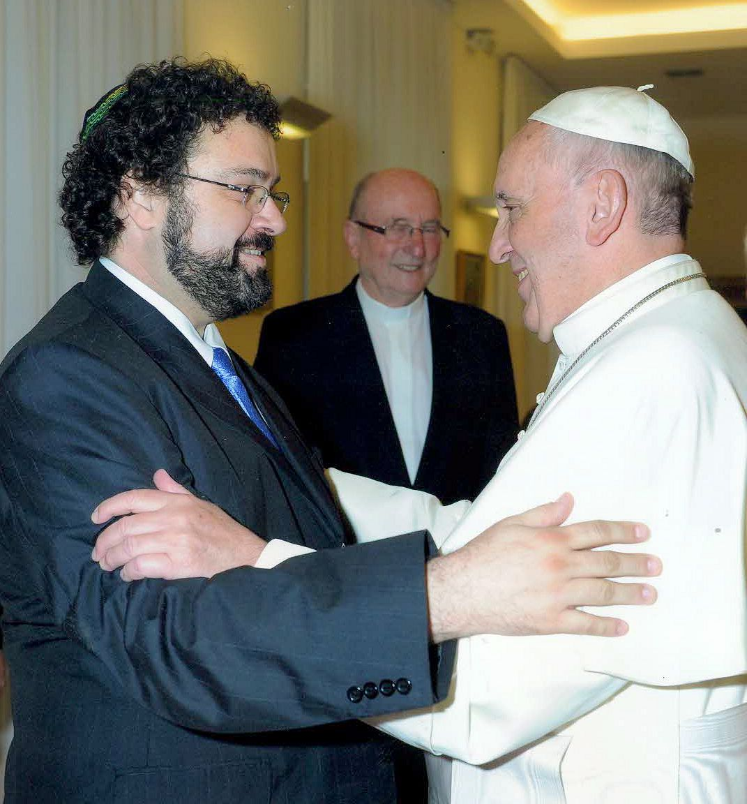Pope Francis welcomes Claudio Epelman