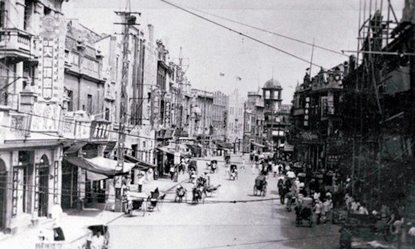 The Jewish ghetto of Shanghai during World War II