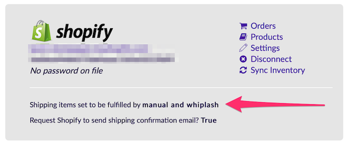 Whiplash - Why are my Shopify items not appearing on my orders?