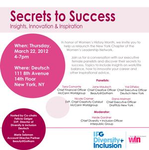 Secrets to Success