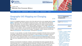 Mapping Our Changing World
