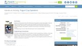 Yogurt Cup Speakers