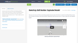 SketchUp Skill Builder: Exploded Model
