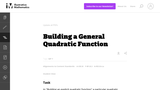 Building a General Quadratic Function