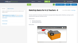 SketchUp Basics for K-12 Teachers - 6
