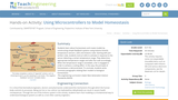 Using Microcontrollers to Model Homeostasis