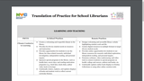 Translation of Practice for School Librarians