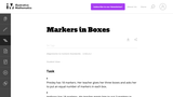 3.OA Markers in Boxes