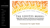 The LIIIITES Model: Eight Ways to Shape and Illuminate the Contribution of School LIbrary Learning Commons Professionals