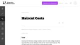 Haircut Costs