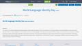 World Language Identity Day