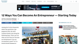 How To Get Started As An Entrepreneur