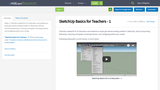 SketchUp Basics for K-12 Teachers - 1