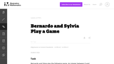 Bernardo and Sylvia Play a Game