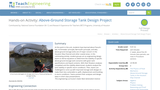 Above-Ground Storage Tank Design Project