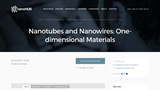 Nanotubes and Nanowires: One-dimensional Materials