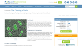 The Cloning of Cells